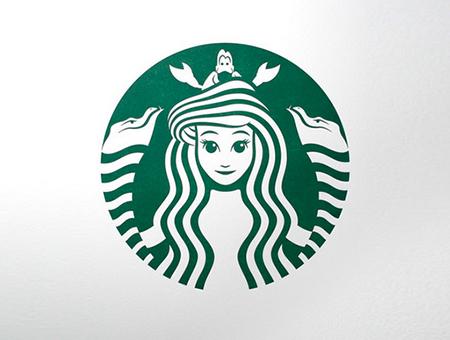 当卡通人物遇上著名品牌logo会碰撞出什么样的火花?
