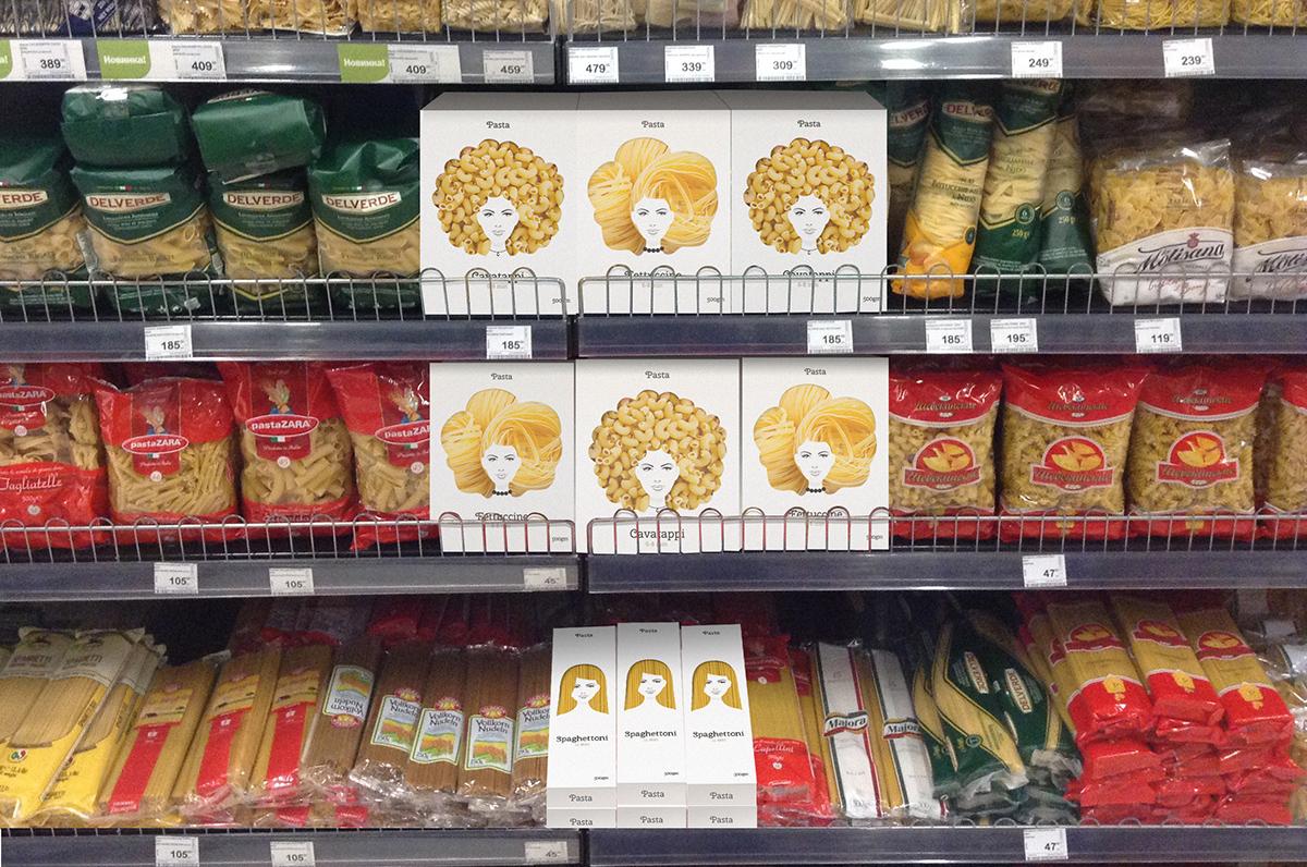 这几款意面的创意食品包装设计你肯定会喜欢