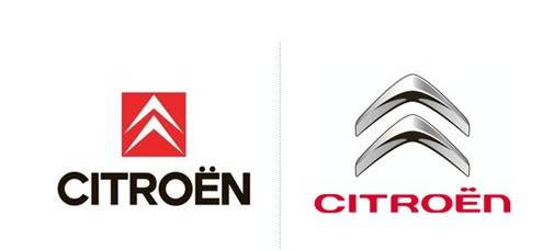 比五环少一环的奥迪,更换了新的扁平化logo设计