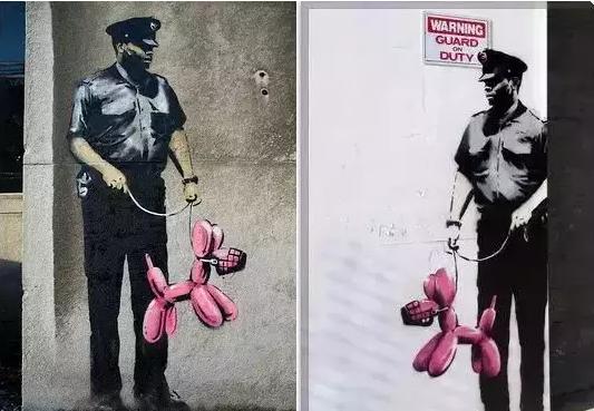 这位登上《时代》杂志封面街头艺术家的作品身价百万,却没有人见过他的真容?!21
