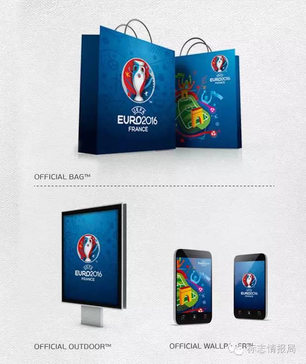 2016法国欧洲杯会徽和吉祥物设计欣赏