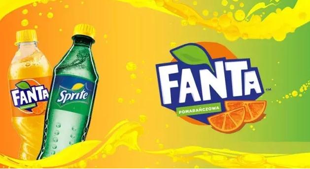芬达饮料logo设计1