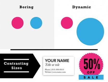 屡用不爽的设计大法之—通过对比让你的设计作品水平up!up!