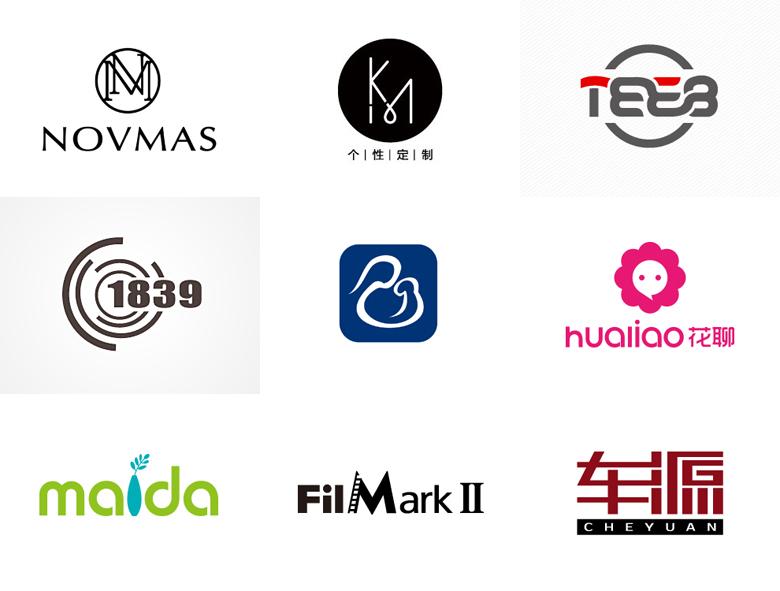 简约风格logo设计案例欣赏(123标志网)