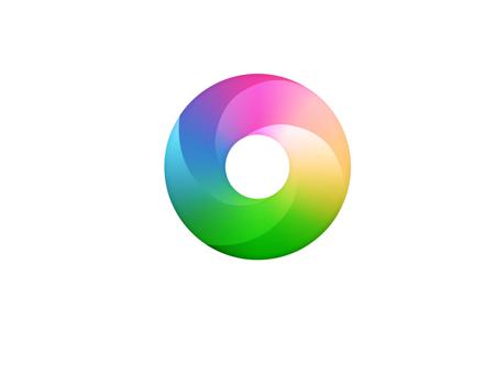 渐变色logo设计正在各大互联网公司中悄悄流行