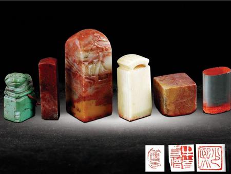 6款原创中国风印章logo设计欣赏-源于123标志