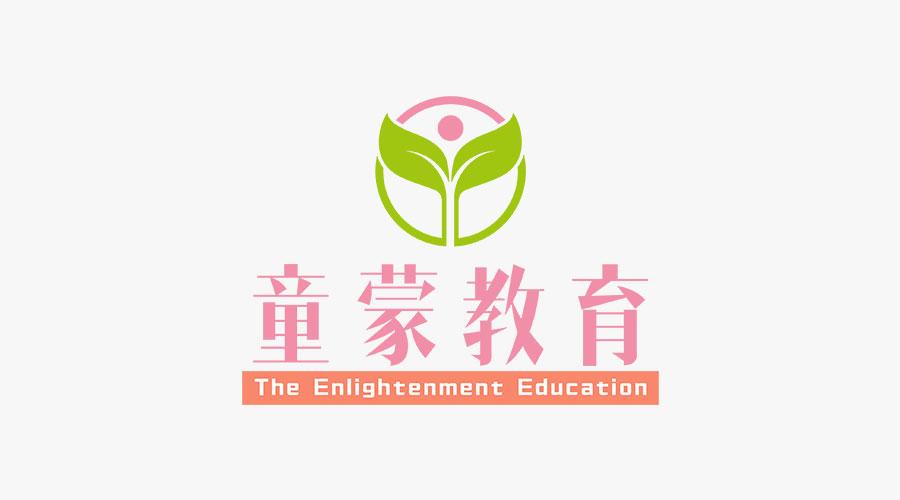 童蒙教育logo设计