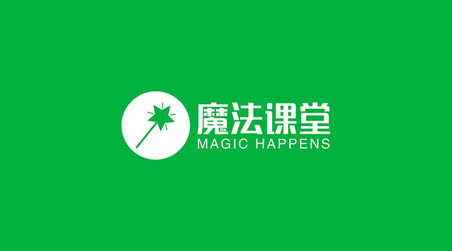 魔法课堂logo 设计
