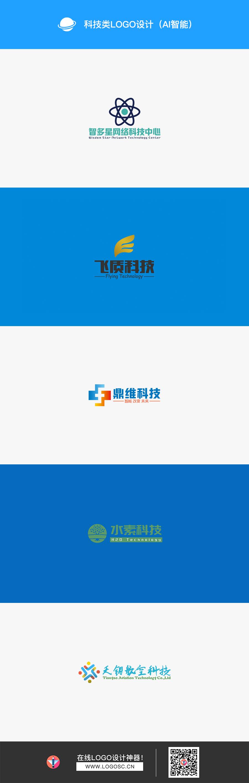 科技类logo(AI智能生成)