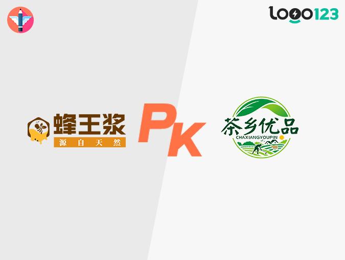 生态农业类LOGO设计PK(设计师原创 VS AI智能)