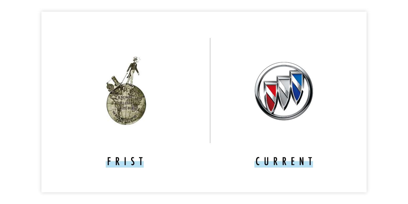 别克新旧logo对比配图