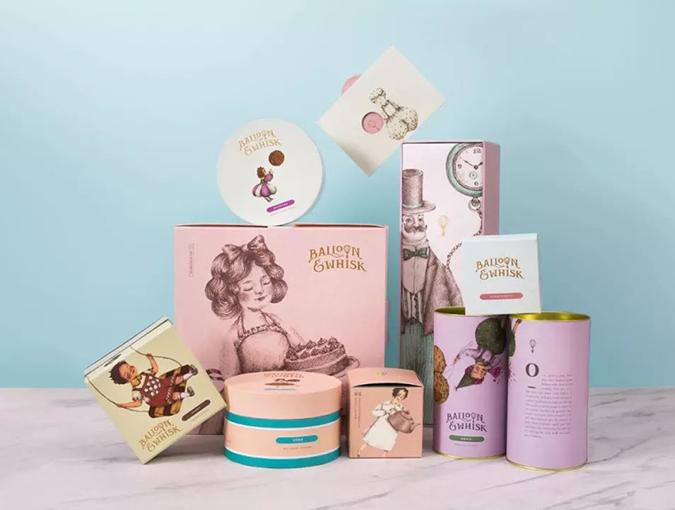插画风的包装设计:给你视觉和味蕾的双重享受