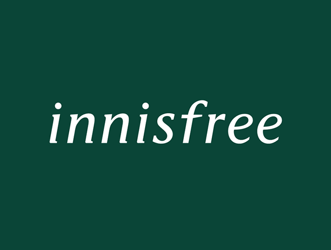 韩国化妆品品牌 Innisfree(悦诗风吟)启用新LOGO