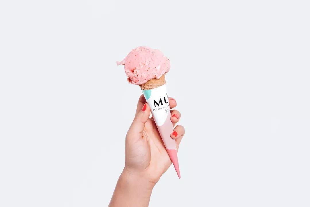 冰淇淋vi设计博文配图
