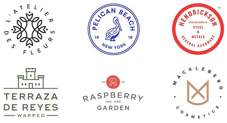 预测2018年logo设计10个趋势, 值得你关注