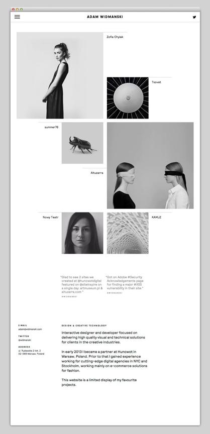 15个案例教你如何做出令人惊艳的黑白设计!