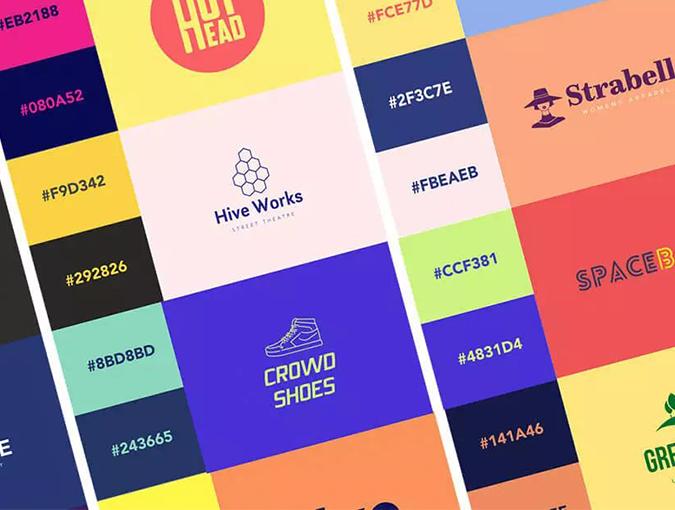 LOGO颜色怎么选?15款配色方案激发你的设计!