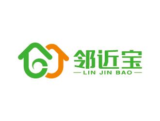 邻近宝24小时便利店原创logo设计